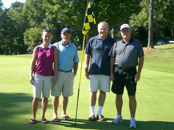 (Left to Right) Jami Smith (Ladies), Terry Smith (Seniors), Mark Young (Mens), John Heffner (Super Seniors)