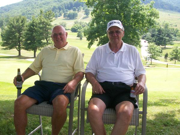 John Heffner & George Davenport