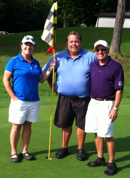(Left to Right) Amy Gallant, Mike Gramlich, & Mike Schwarz
